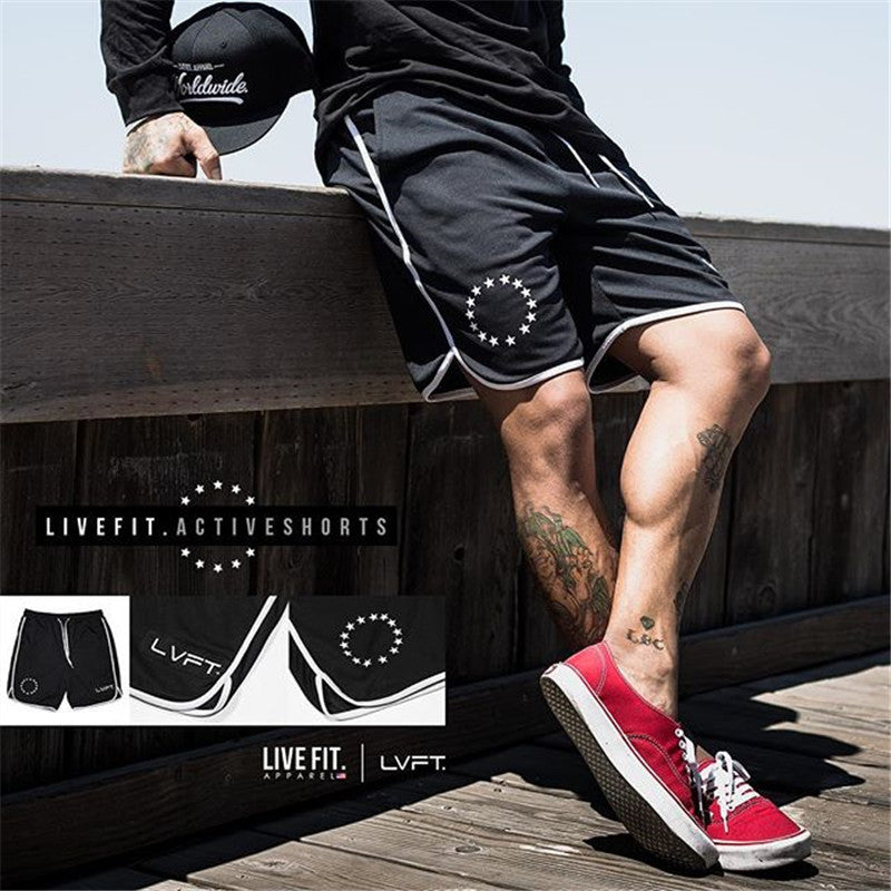 Fitness Quick-drying Breathable Men's Sportswear Shorts