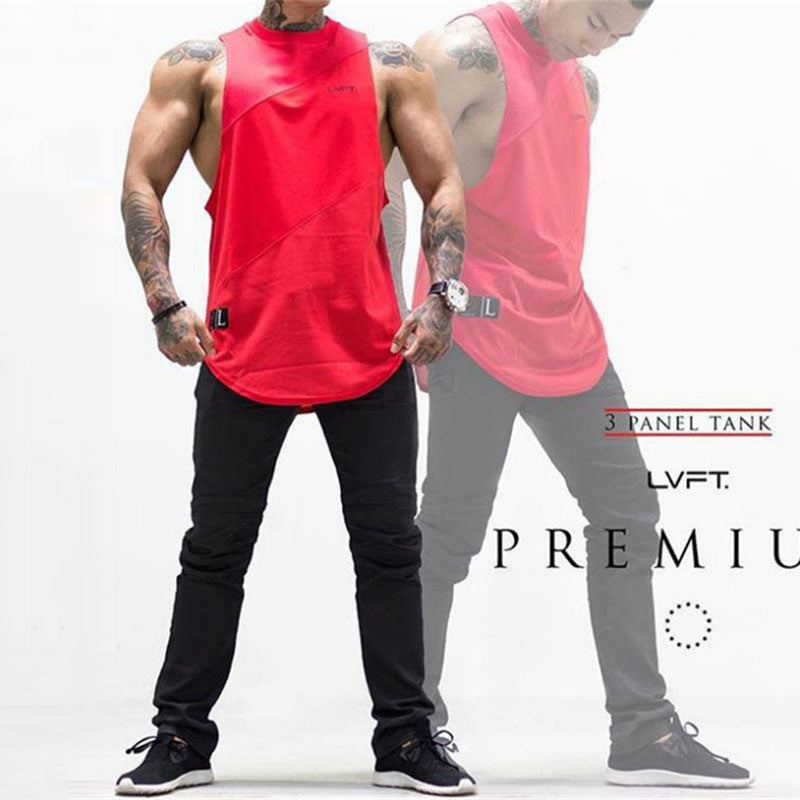 Loose Elastic Fitness Quick-drying Men's Sportswear Vest
