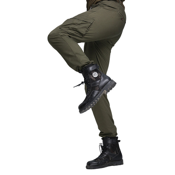 Flash Leisure Military Style Multi-Pocket Men's Cargo Pants