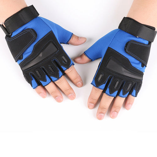 Outdoor Non-slip CS Tactical Half-finger Men's Gloves