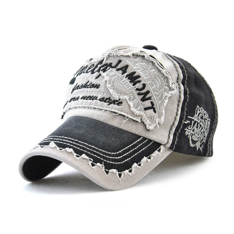Embroidered Cotton Baseball Cap Men's Outdoor Hat
