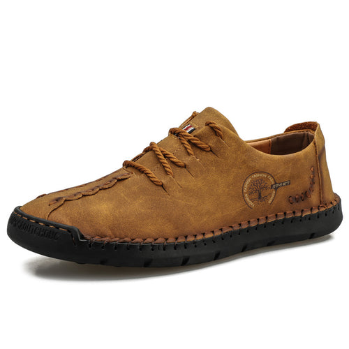 Causal Soft Bottom PU Men's Shoes