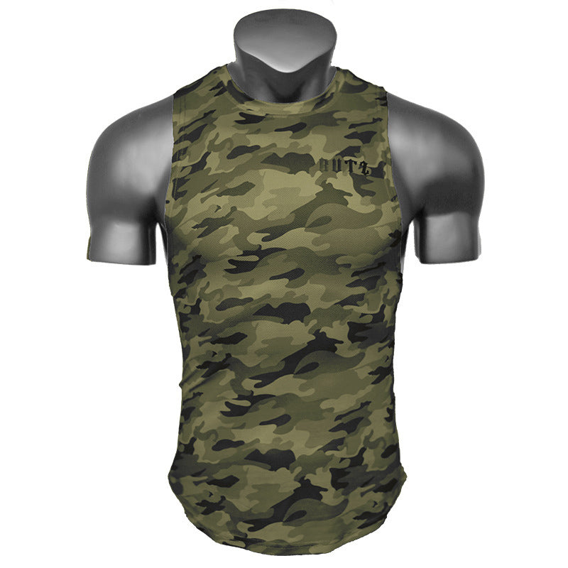 New Loose Fitness Training Quick-drying Men's Vest