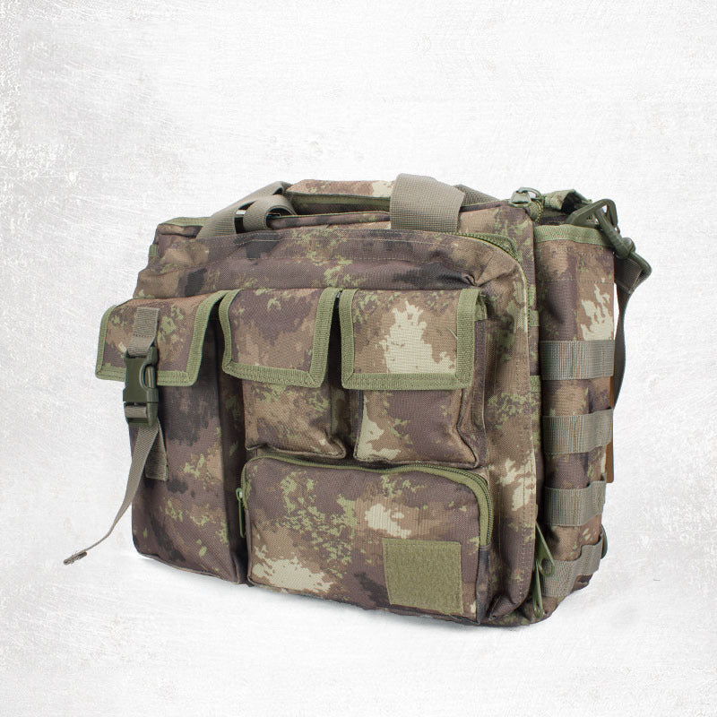 Army Large-capacity Multifunction Business Computer Notebook Bag