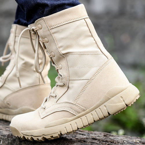 Tactical Military Ultralight Combat Men and Women Boots