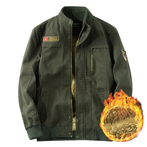 Outdoor Cotton Thick Flight Men's Jacket