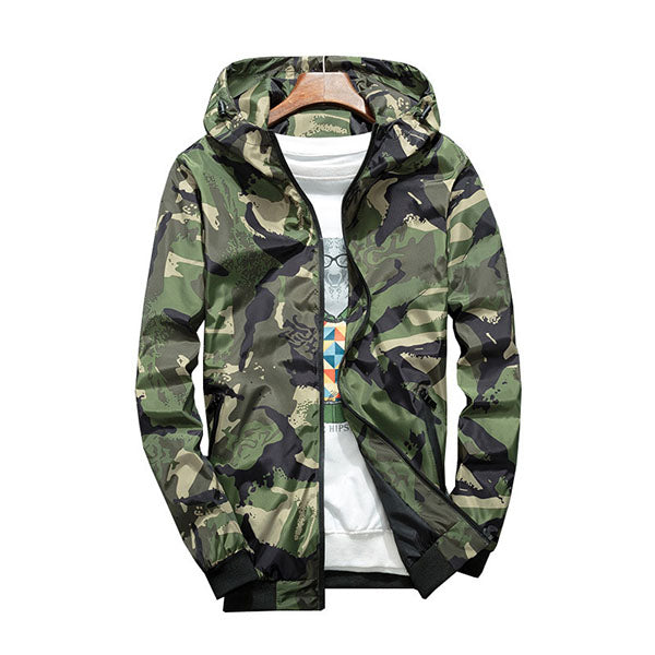 Cool Popular Camo Light & Breathable Men's Jacket - KINGEOUS