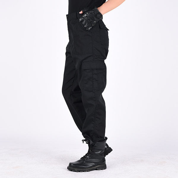 Wear-resistant Multi-pocket Design Training Men's Pants