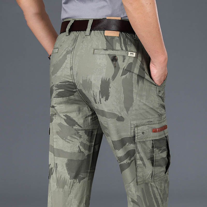 Camouflage Business Casual Men's Pants