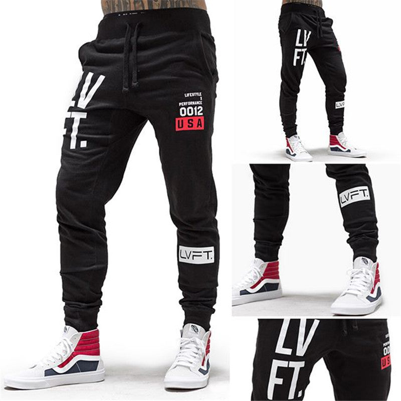 Casual Cotton Fitness Jogger Men's Pants - KINGEOUS