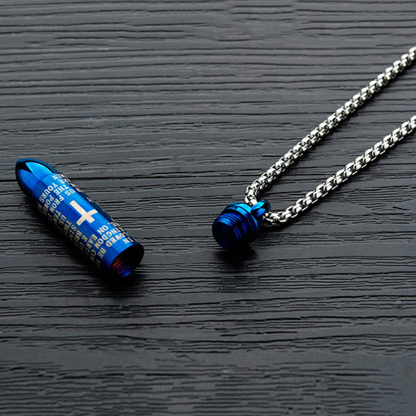 Unscrew Creative Cross Stainless Steel Men Necklace