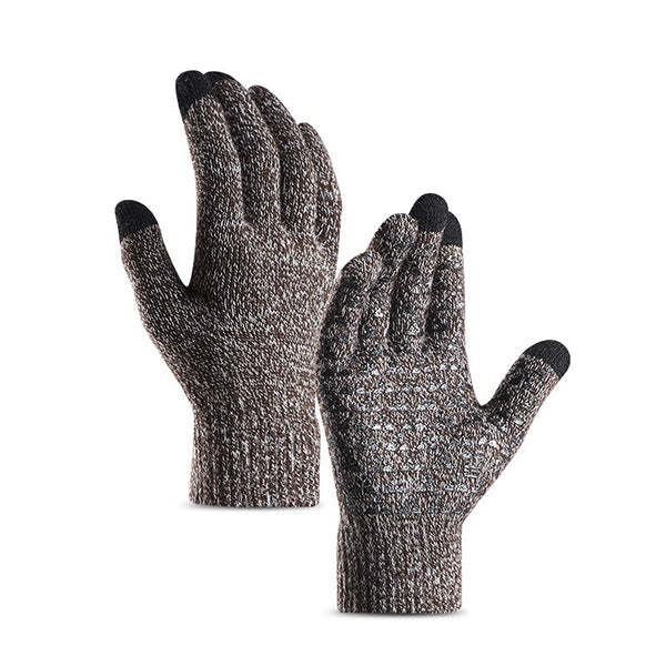 Fashion Knitted Warm Non-slip Gloves(Touch Screen) - KINGEOUS