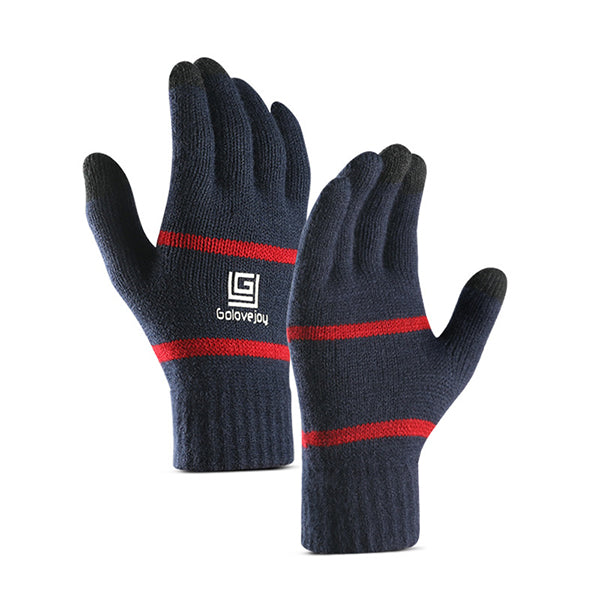 Knit Flexible Warm 3-Fingers Touch Screen Gloves