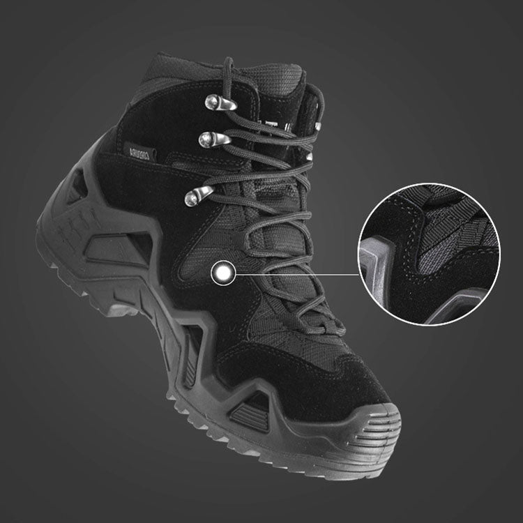 Waterproof and Breathable Non-slip Hiking Shoes Mountaineering Men's Shoes