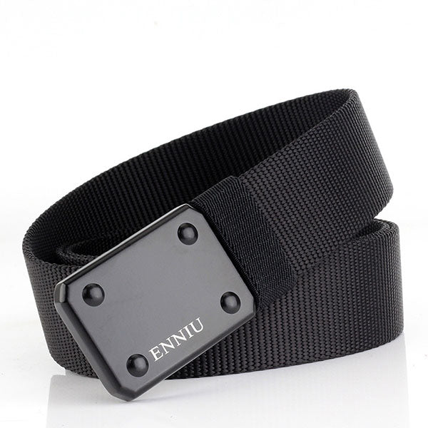 Tactical Quick Double-hook Buckle Training Braided Belt