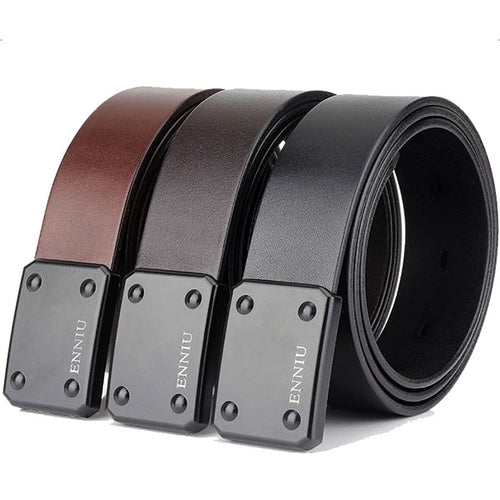 Tactical Special Hook First Layer Cowhide Army Double Belt