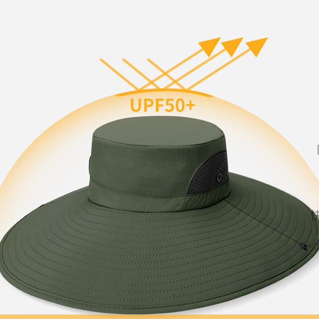 Outdoor UV-proof Breathable Quick-drying Fisherman Hat