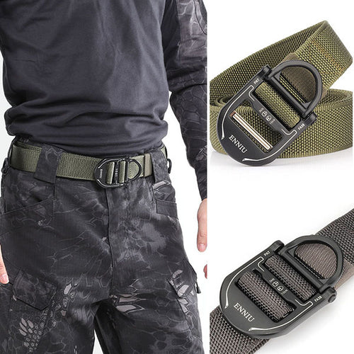 Cobra Series Buckle Tactical Belt - KINGEOUS