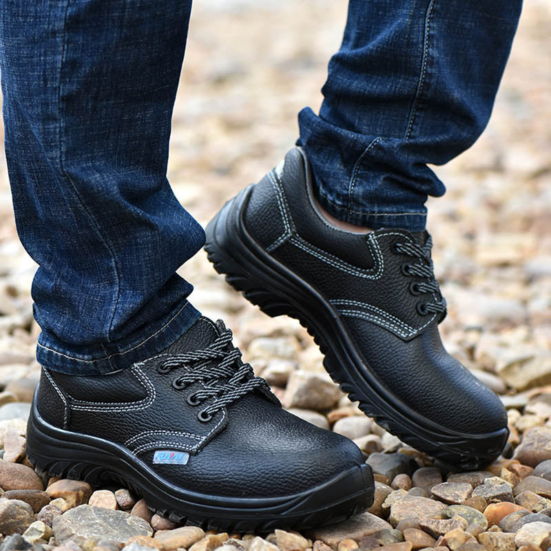 Men Boots Work Safety Boot Anti-smashing Piercing Indestructible Work Shoes Boot