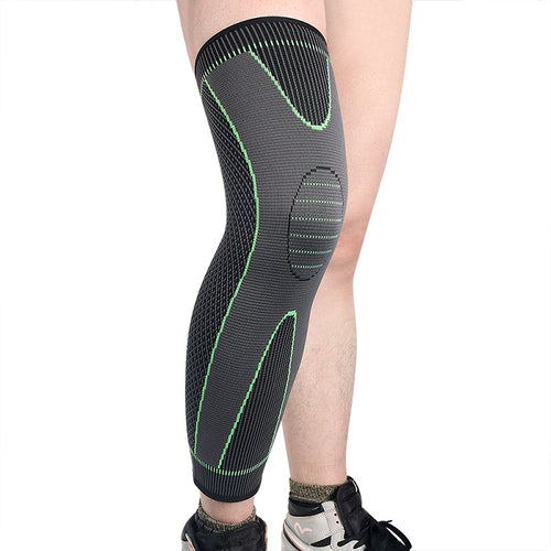 Elastic Sports Lengthen Knee Pad Leg Sleeve Bandage For Men And Women