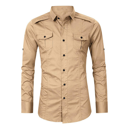 Men's Outdoor Casual Pocket Shirt