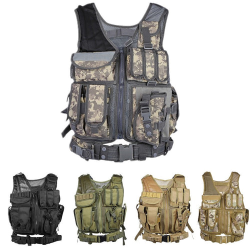 Military Tactical Hunting Assault Carrier Vest