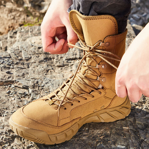 Tactics Military Hiking Desert Men Ankle Boots
