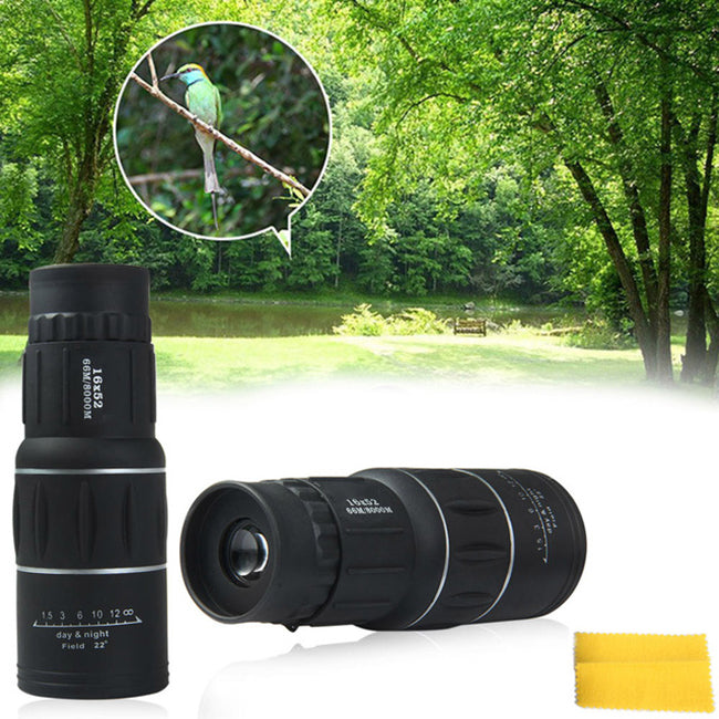 16 x 52 Dual Focus Monocular Spotting Telescope - KINGEOUS