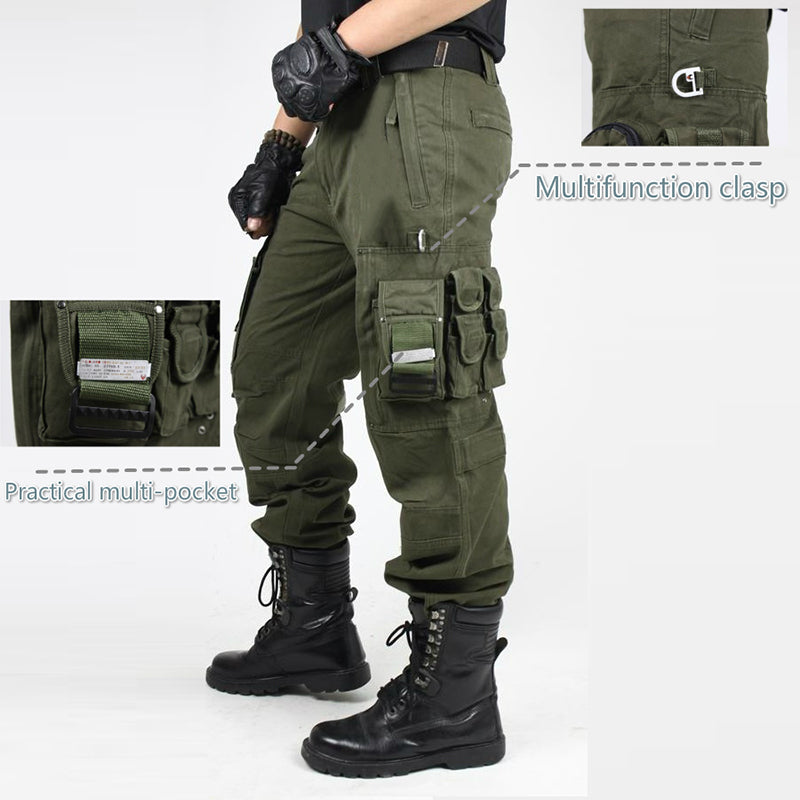 Military Fashion Cotton Tactical Men's Pants