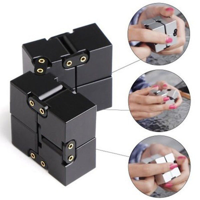 Infinite Flip Decompression Rubik's Cube Finger Toys