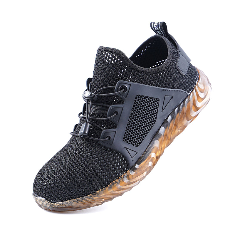 Anti-smashing Breathable Work Safety Shoes - KINGEOUS