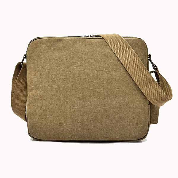 Vintage Multifunctional Canvas Oblique Shoulder Bag