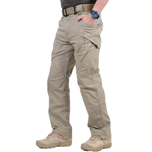 Pop Casual Multi-pocket Men's Cargo Shorts