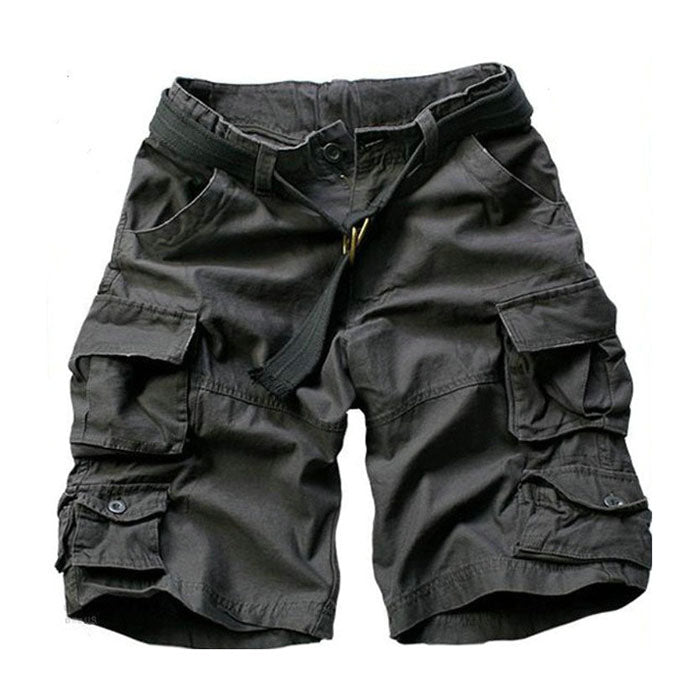 Casual Multi-pocket Sport Outdoor Mens Cargo Shorts - KINGEOUS