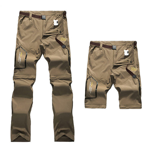 Detachable Hiking Camping Fishing Men and Women Pants - KINGEOUS