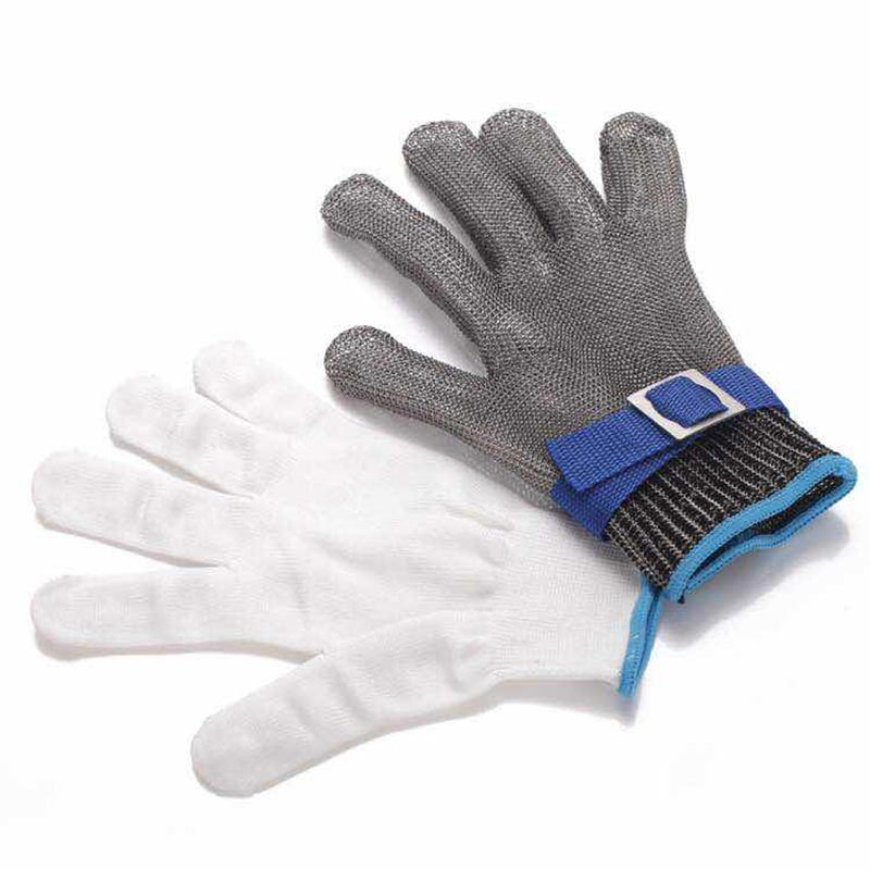 Cut Resistant Stainless Steel Gloves Working Safety Gloves - KINGEOUS
