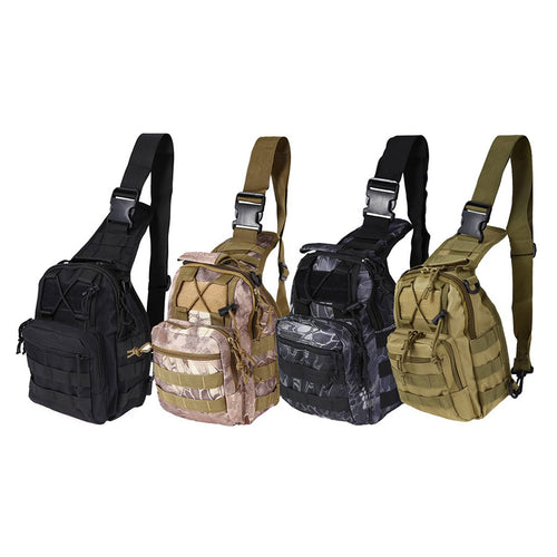 Compact Outdoor Sport Tactical Mini Canvas Waist Bag