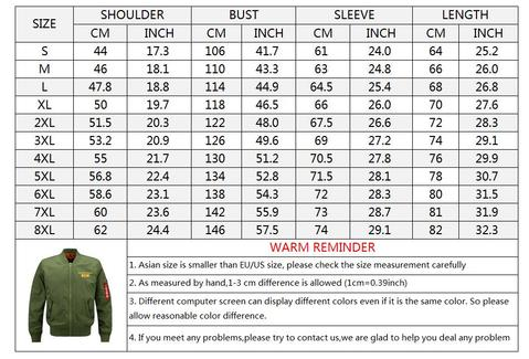 Max To 8XL Leisure Embroidery Baseball Collar Thicken Jacket