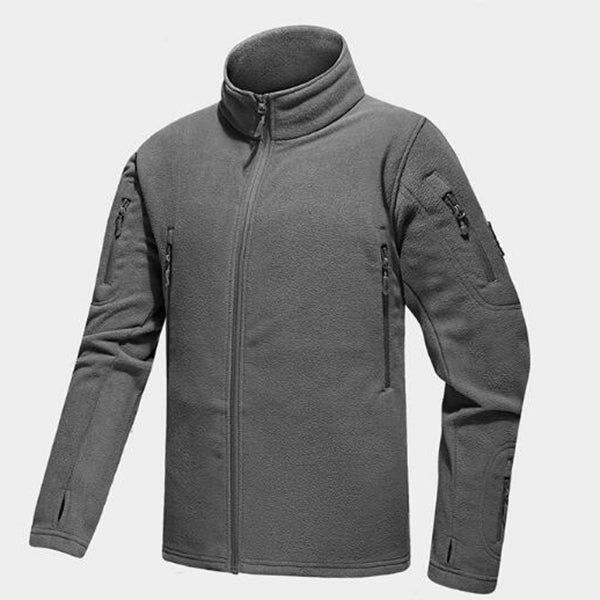 Commander Series Commuting Tactical Men's Fleece Jacket - KINGEOUS