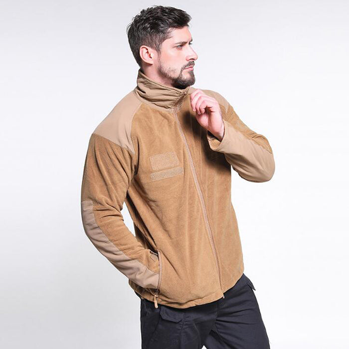 Outdoor Fleece Wear-resistant Men Coat