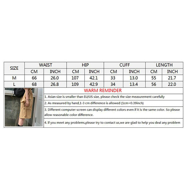 Plus Pocket Letter Embroidery Wide-leg Women's Shorts