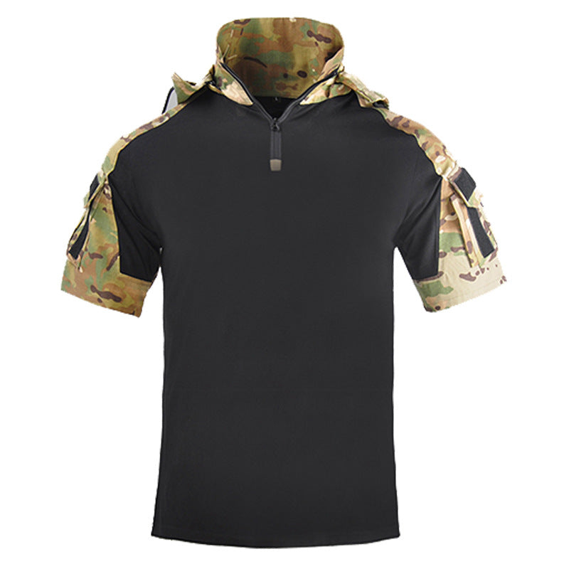 Outdoor Hunting Hooded Men's T-shirts