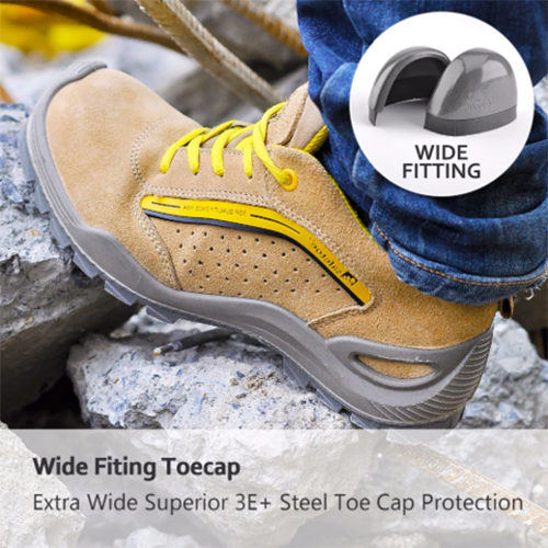 Shock Absorption Non-slip Low Upper Tooling Shoes(Steel Toe Cap  )