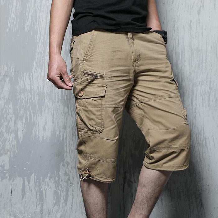Max To  5XL Leisure Fashion Loose Straight Men's Shorts