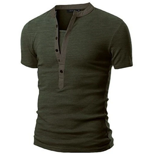 Fashion Urban Slim Layerd-Look Short Sleeve Men's T-shirt