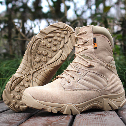 Special Force Tactical Desert Combat Men's Ankle Boots
