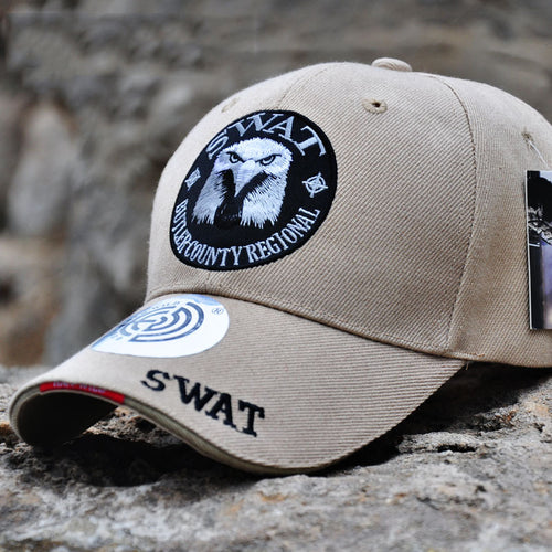 Outdoor Fighting Eagle Head Baseball Cap Men Hats
