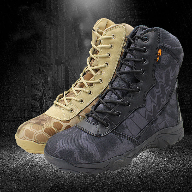 Army Fan Outdoor Waterproof Mountaineering Desert Men Boots