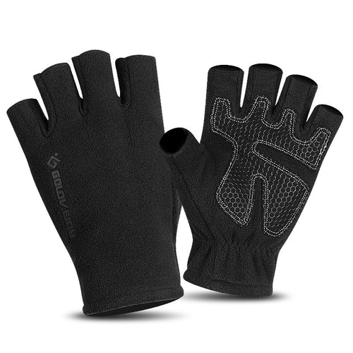 Sports Mountaineering Warm Fingerless Skid Gloves