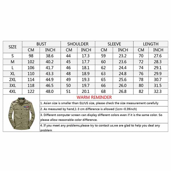Military Style Epaulette Design Men's Cargo Shirt
